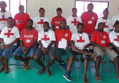 Sanma Red Cross Emergency Response Team