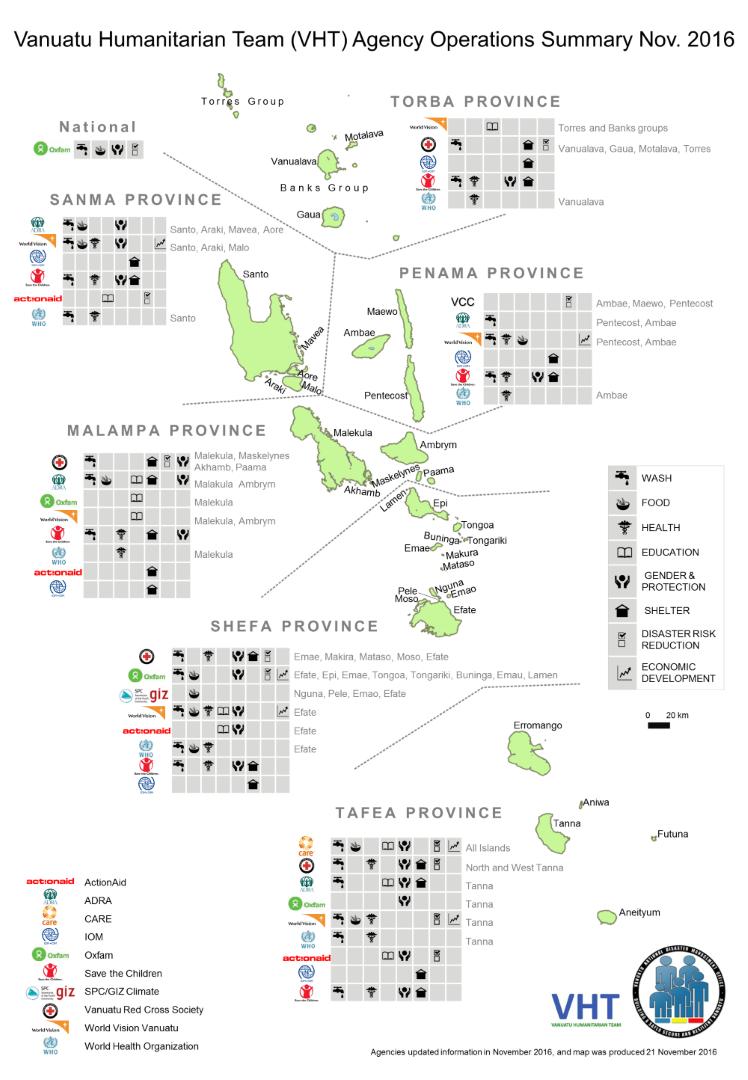 Vanuatu National Disaster Management Office NDMO Downloads - Vanuatu map download